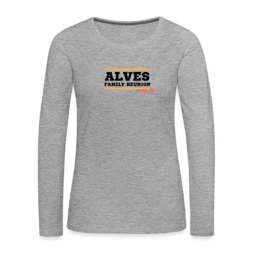 Alves - Maglietta Premium a manica lunga da donna