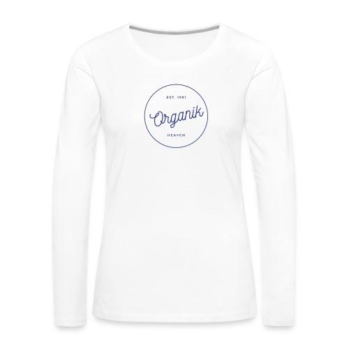Organic - Maglietta Premium a manica lunga da donna