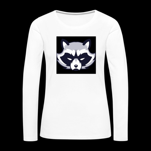 WaschbeerKopf Logo :) - Frauen Premium Langarmshirt