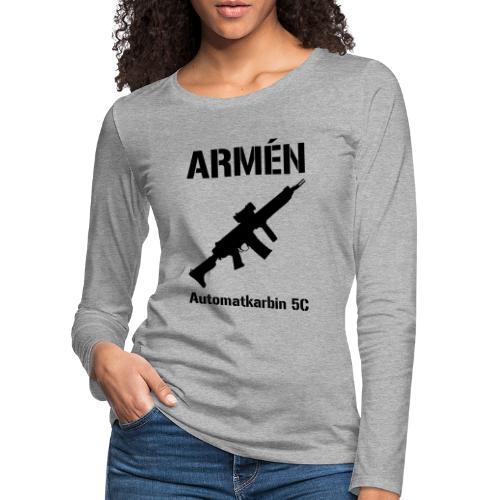 ARMÈN - Ak 5C - Långärmad premium-T-shirt dam