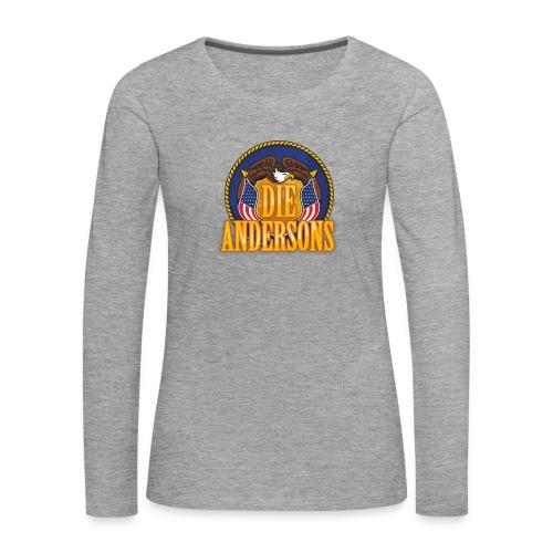 Die Andersons - Merchandise - Frauen Premium Langarmshirt