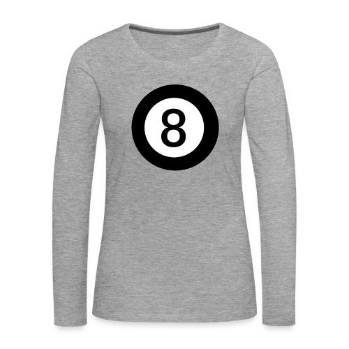 Black 8 - Women's Premium Longsleeve Shirt