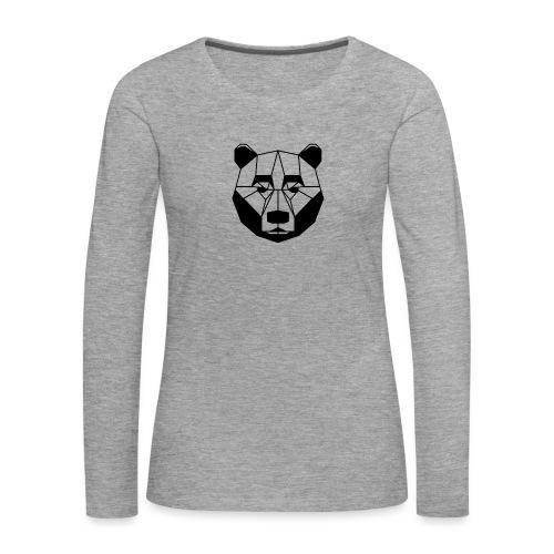 ours - T-shirt manches longues Premium Femme