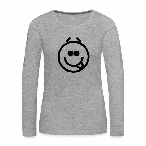 EMOJI 20 - T-shirt manches longues Premium Femme