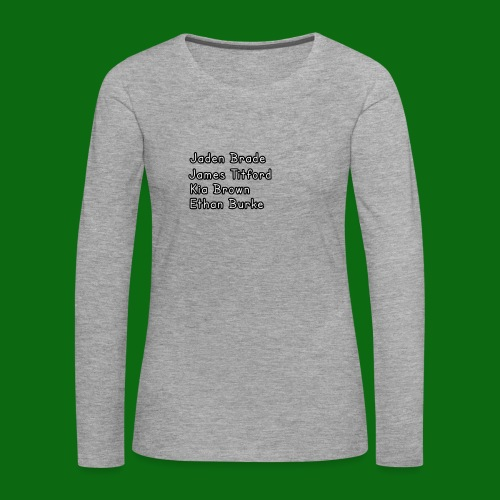Glog names - Women's Premium Longsleeve Shirt