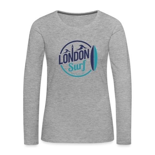 London Surf Classic Logo - Women's Premium Longsleeve Shirt