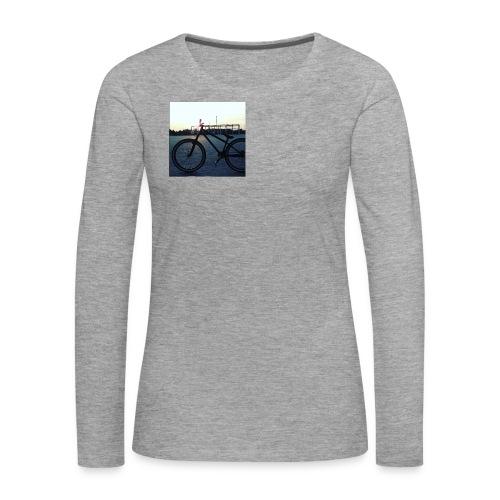 Motyw 2 - Koszulka damska Premium z długim rękawem