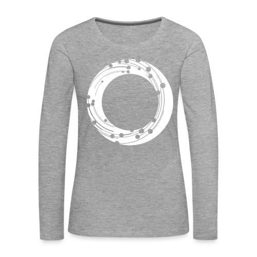 NBG Icon Weiß - Frauen Premium Langarmshirt