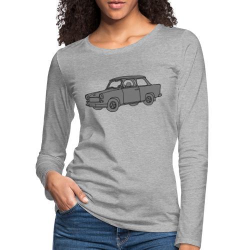 Trabant 2 - Frauen Premium Langarmshirt