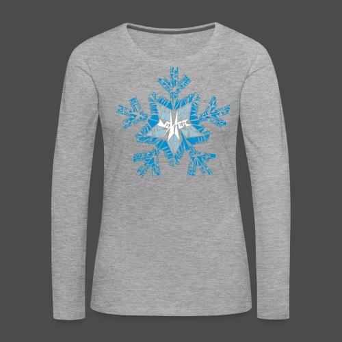 WINTER - Women's Premium Longsleeve Shirt