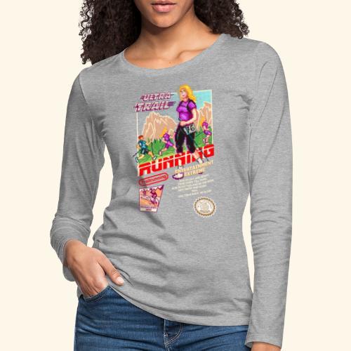 ULTRA TRAIL RUNNING (FAST GIRL) - Maglietta Premium a manica lunga da donna