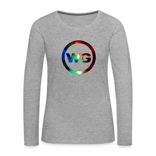 wout games - Vrouwen Premium shirt met lange mouwen
