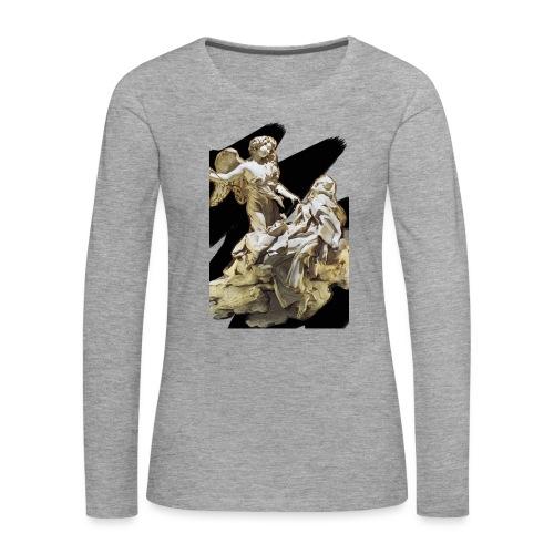 Éxtasis de Santa teresa - Camiseta de manga larga premium mujer