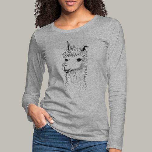 Lama - T-shirt manches longues Premium Femme