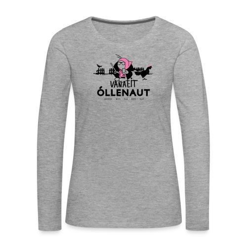 Õllenaut Vanaeit - Women's Premium Longsleeve Shirt