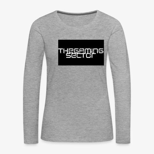 TheGamingSector Merchandise - Women's Premium Longsleeve Shirt