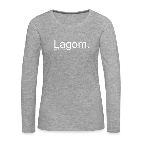 Lagom Pictures Logo Light - Women's Premium Longsleeve Shirt