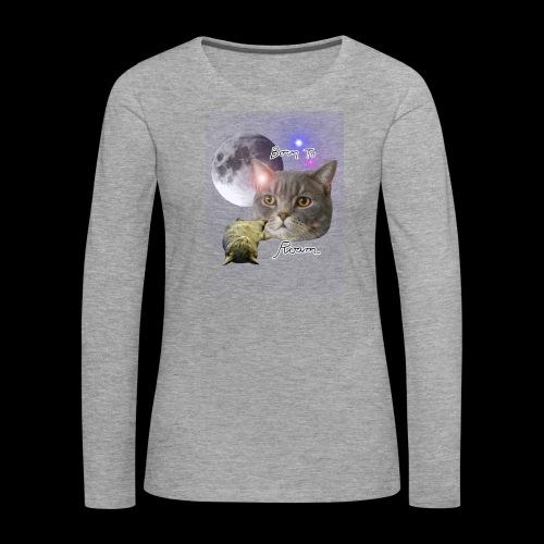 Epic Sieni Shirt - Naisten premium pitkähihainen t-paita