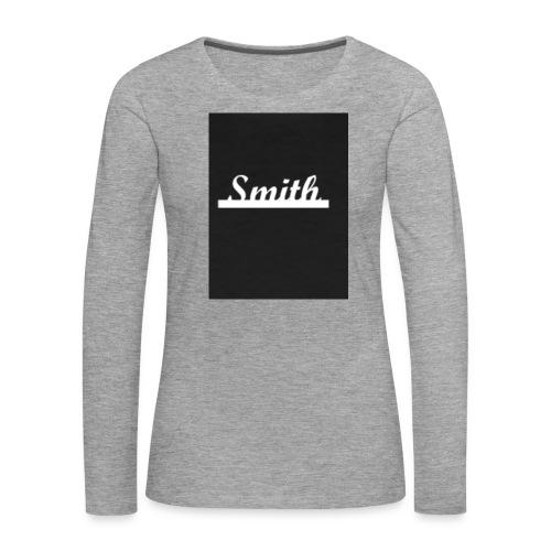 Mathias - Dame premium T-shirt med lange ærmer