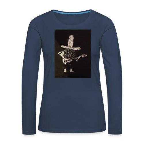 Mexican Bass Player - Women's Premium Longsleeve Shirt