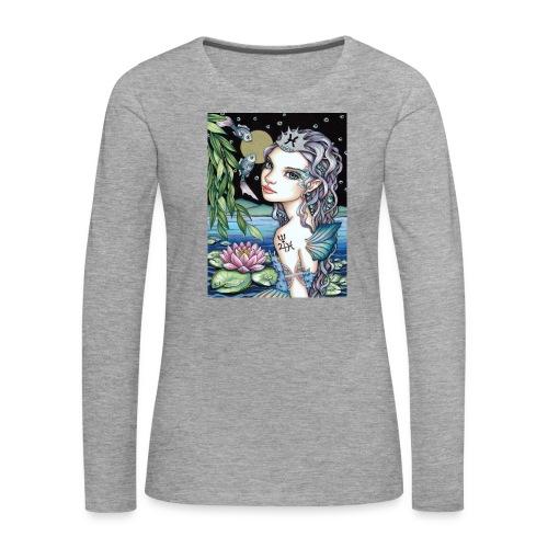 Pisces girl Fische Mädchen - Women's Premium Longsleeve Shirt
