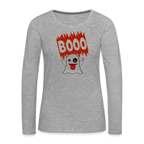 Booo - Naisten premium pitkähihainen t-paita