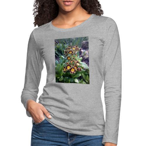 Primel - Frauen Premium Langarmshirt