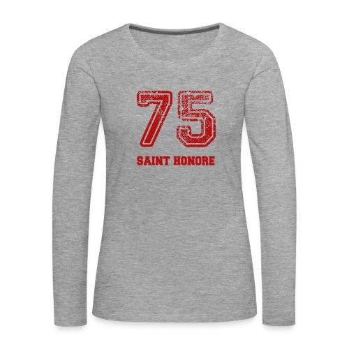 75 Saint Honoré - Women's Premium Longsleeve Shirt