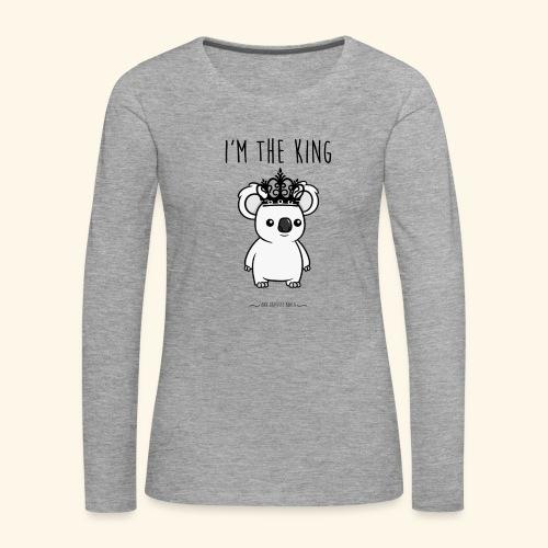 Koala king - T-shirt manches longues Premium Femme