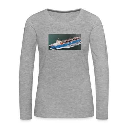 Bell Pioneer jpg - Vrouwen Premium shirt met lange mouwen
