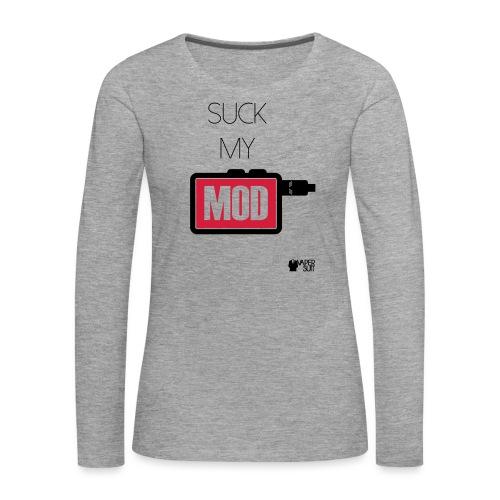SUCK MY MOD - Koszulka damska Premium z długim rękawem