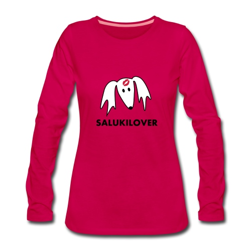 Salukilover - Frauen Premium Langarmshirt