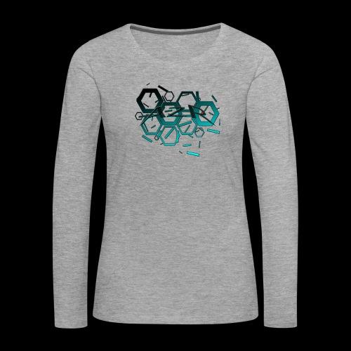 AZR - T-shirt manches longues Premium Femme
