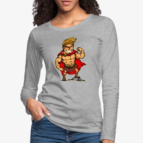 Hercules - T-shirt manches longues Premium Femme
