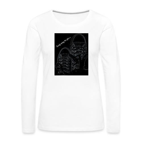 Long way to go - Women's Premium Longsleeve Shirt
