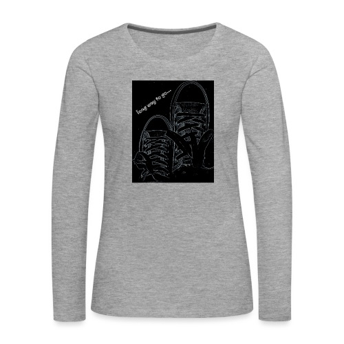 Long way to go - Women's Premium Longsleeve Shirt