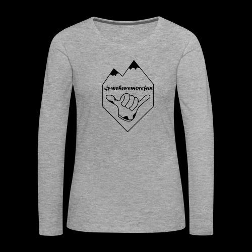 Madabe Logo Shirt 2 - Frauen Premium Langarmshirt