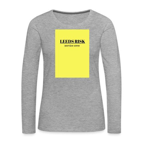 leeds risk - Women's Premium Longsleeve Shirt