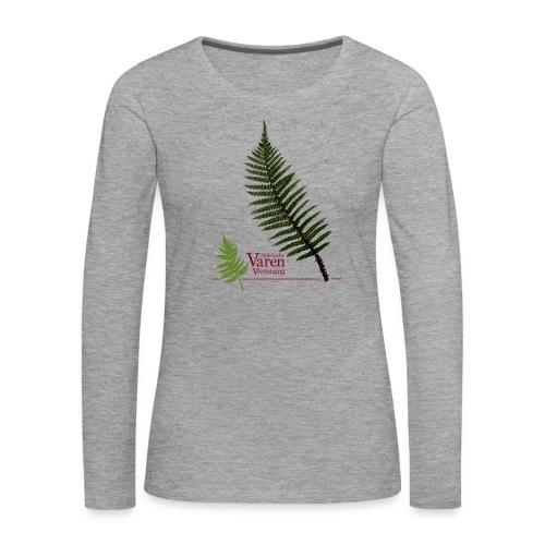 Polyblepharum - Vrouwen Premium shirt met lange mouwen
