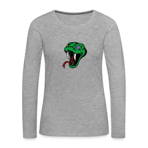 Snake collection - Maglietta Premium a manica lunga da donna