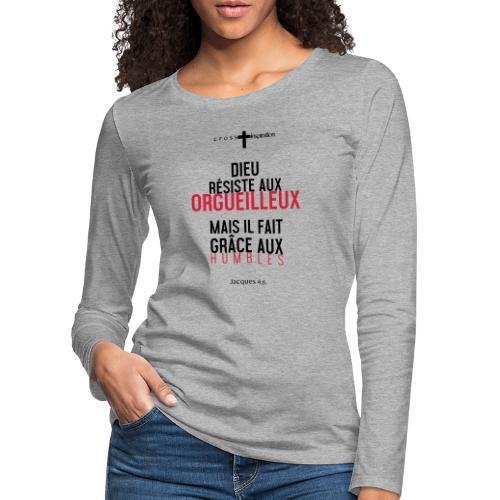 Humbles - T-shirt manches longues Premium Femme