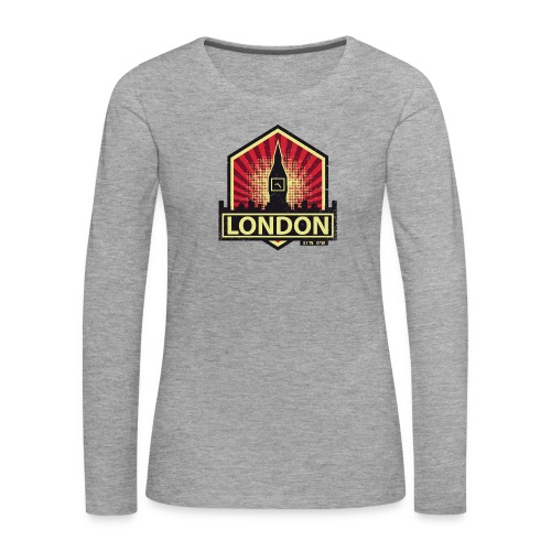 London, England - Women's Premium Longsleeve Shirt