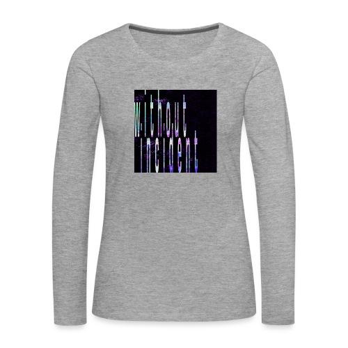 WITHOUT INCIDENT - Women's Premium Longsleeve Shirt