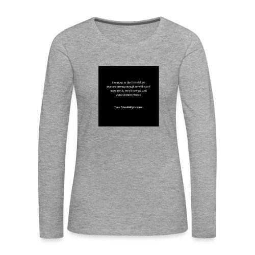 meah clothing - Women's Premium Longsleeve Shirt