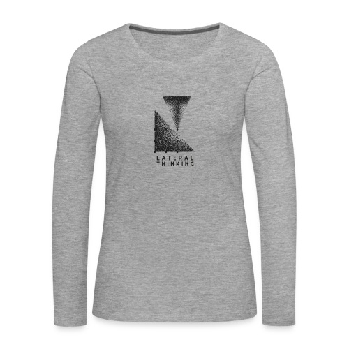 Lateral Thinking - T-shirt manches longues Premium Femme