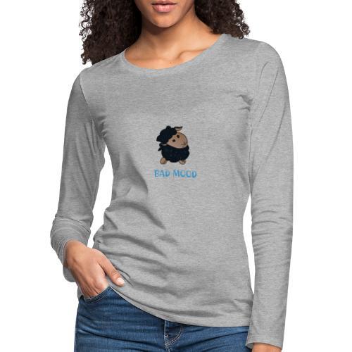 Badmood - Gaspard le petit mouton noir - T-shirt manches longues Premium Femme