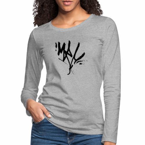 mrc tag - Frauen Premium Langarmshirt