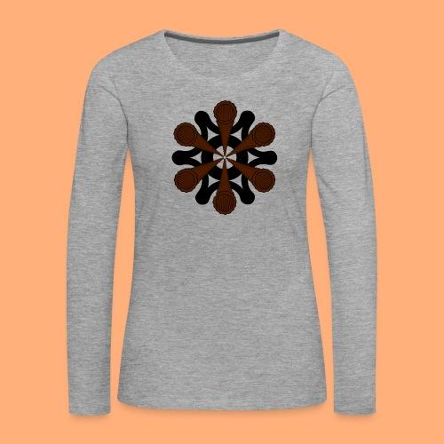 vortex - T-shirt manches longues Premium Femme