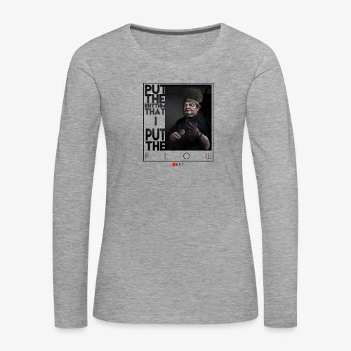 bboy forever - Camiseta de manga larga premium mujer