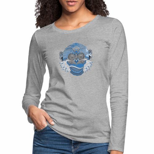 Affe - Frauen Premium Langarmshirt
